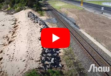 Sulphur Creek, Coastal Erosion and Land Slip Works