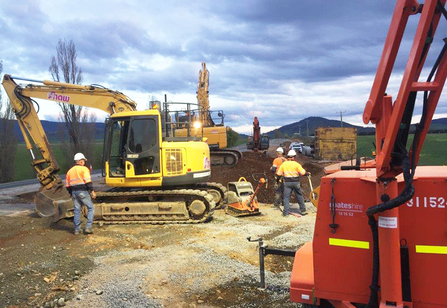 Shaw Contracting | Your Road Construction Experts
