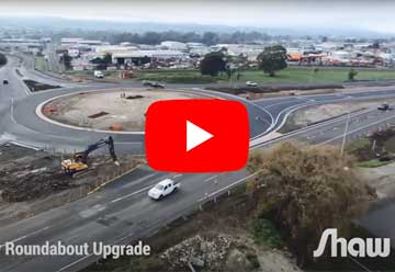Mowbray Roundabout Upgrade